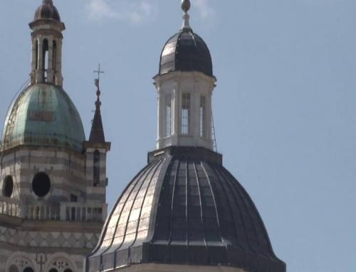 Completato il restauro della cupola della cattedrale