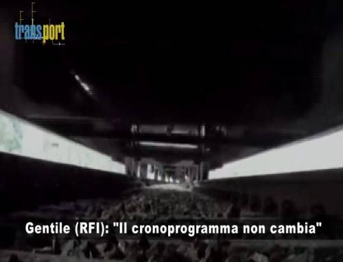 """Gentile (RFI): """"Il crono programma non è in discussione"""""""