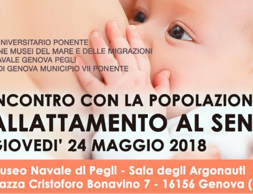 Allattamento al seno, un pomeriggio con gli espertiA Genova Pegli appuntamento organizzato da Asl3