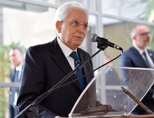 """80 anni di Gaslini con il presidente Mattarella""""Un ospedale dedicato esprime in maniera efficace ciò che va fatto in termini di terapie e cure"""" ha detto il Presidente"""