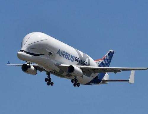 Primo volo di prova per il nuovo gigante dei cieli, l'Airbus Beluga XLLungo 63,1 metri e alto 19, può trasportare un carico di 53 tonnellate per più di 4000 chilometri