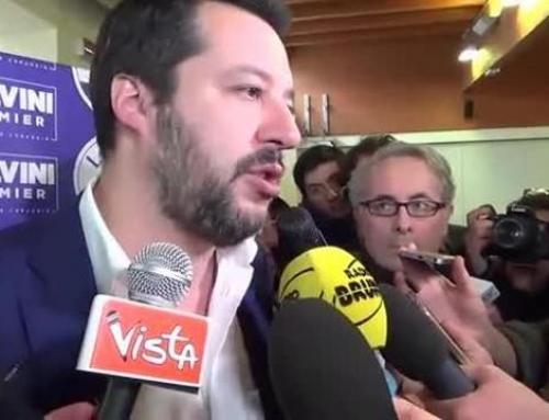 """Migranti, Salvini: """"Identificazioni veloci e patti con l'Africa""""Il ministro dell'Interno Salvini risponde anche con i numeri a chi lo critica"""