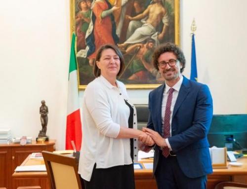 Faccia a faccia Toninelli-Bulc al MitIncontro tyra il ministro e la Commissaria Europea ai Trasporti: tanti i temi sul tavolo