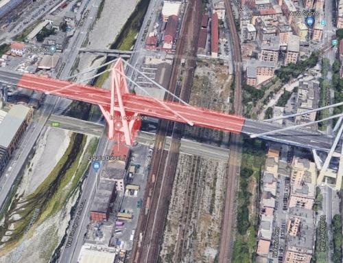 Ecco la crepa su Ponte Morandi due giorni prima del crollo