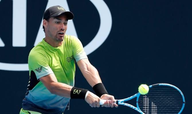 Australian Open, Fognini eliminato