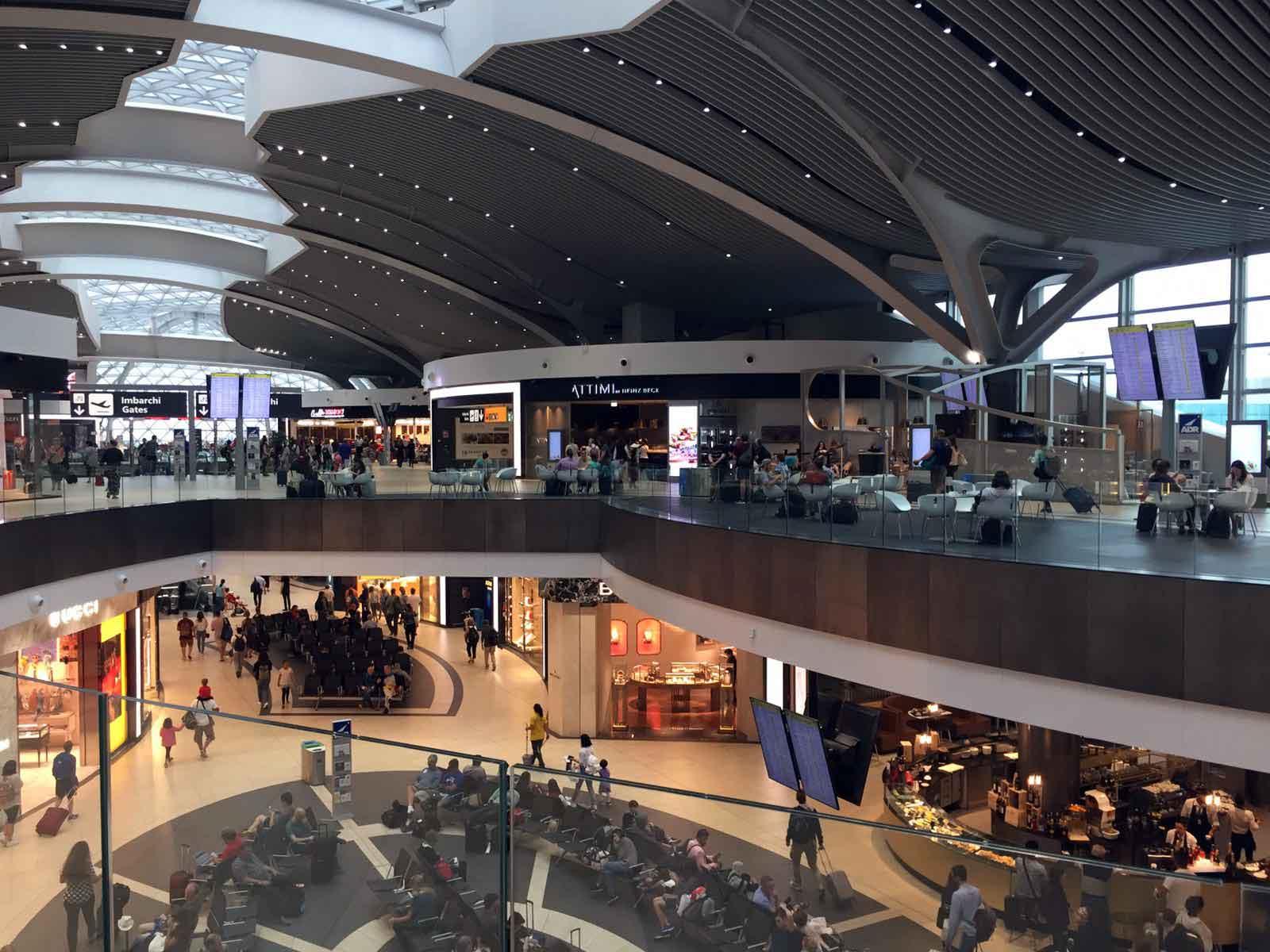 Aeroporto Fiumicino il migliore d'Europa secondo i viaggiatori