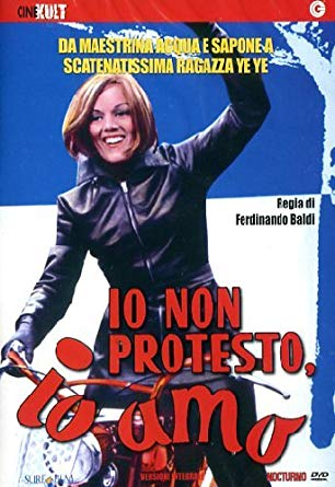 io non protesto, io amo