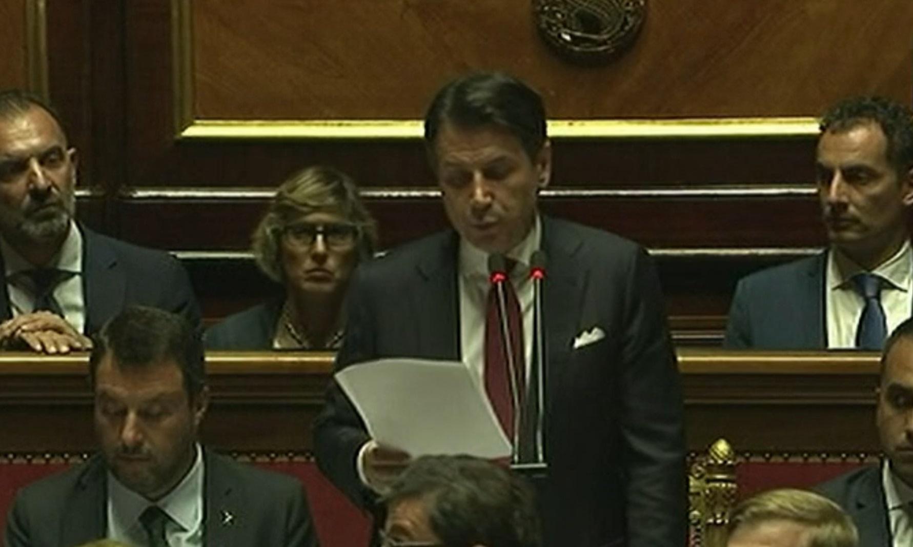 TELENORD - Crisi di Governo, Conte annuncia le dimissioni: